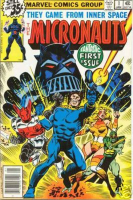 micronauts comic