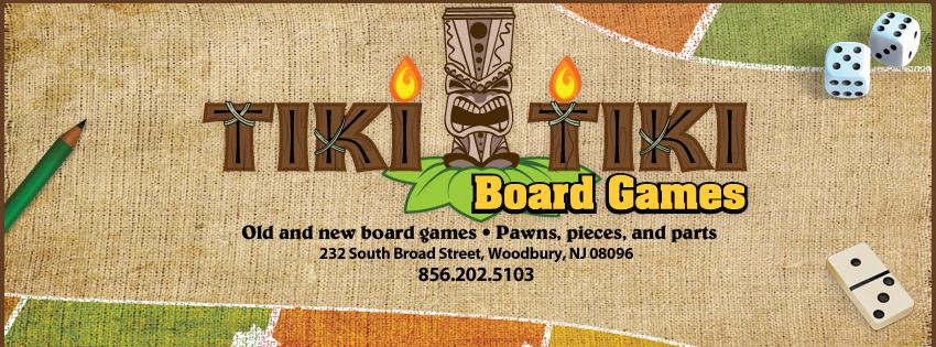 Tiki Tiki Board Games