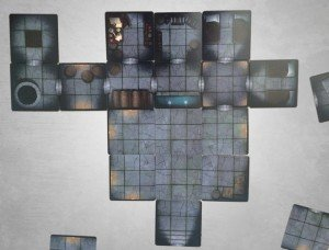 dungeon explore tabletop rpg tile card deck on kickstarter nerdarchy