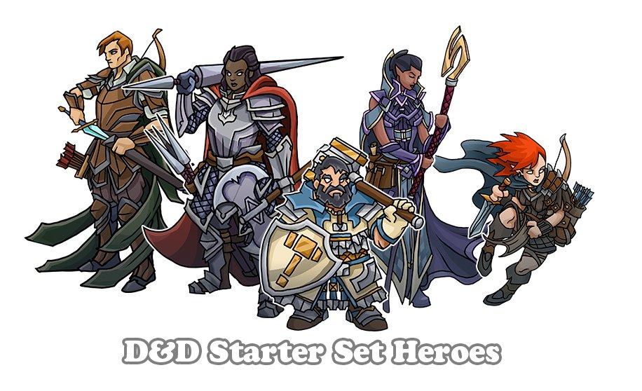 D&D Starter Heroes