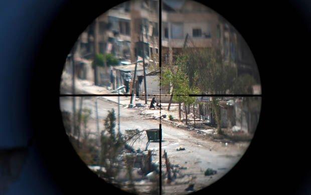Sniper firearms