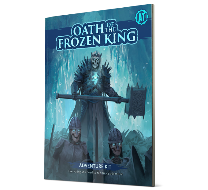Absolute Tabletop Adventure Kit Oath of the Frozen King