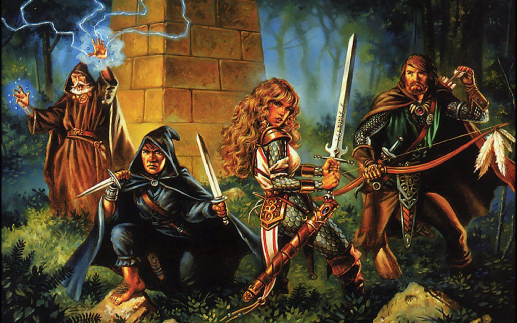 D&D party worldbuilding roleplaying character class