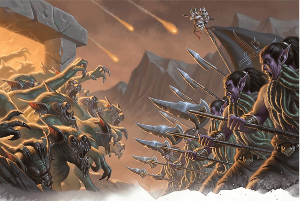 Tome of Foes D&D Blood War demons and devils