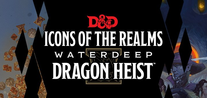 Waterdeep Dragon Heist WizKids Icons of the Realms