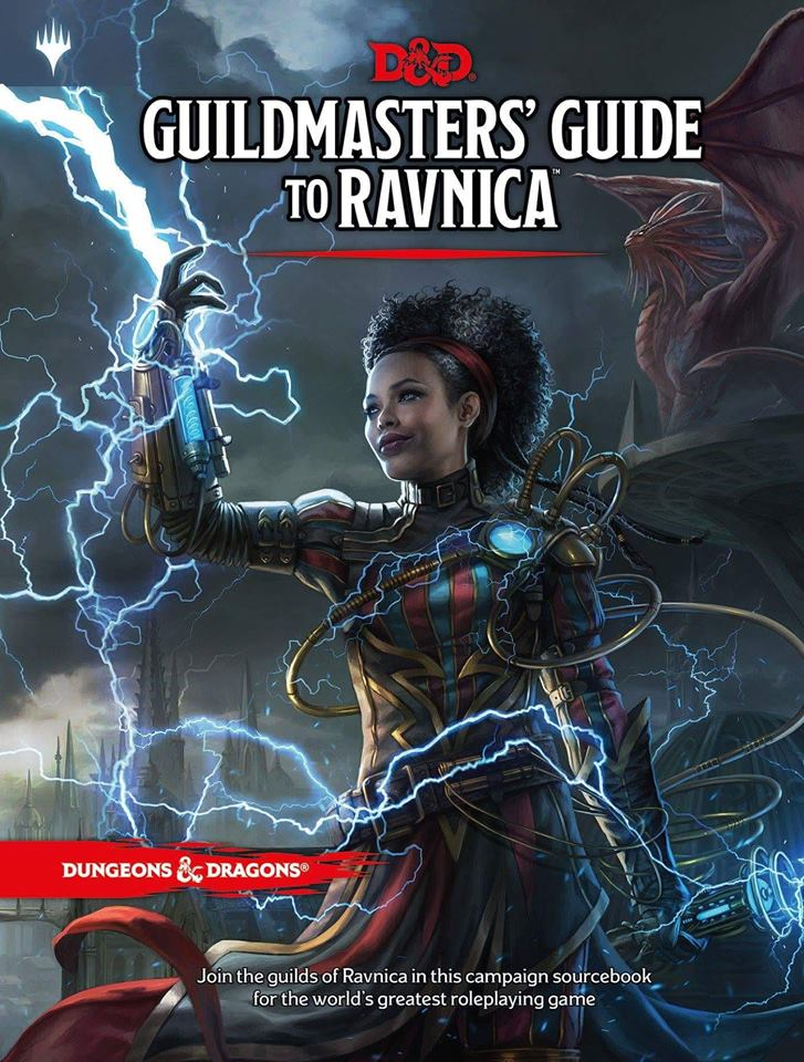 D&D Guildmasters Guide to Ravnica new D&D campaign setting