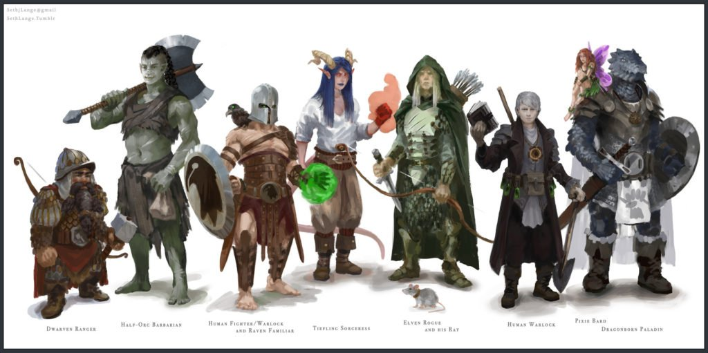 D&D for students Education Adventures dress-up
