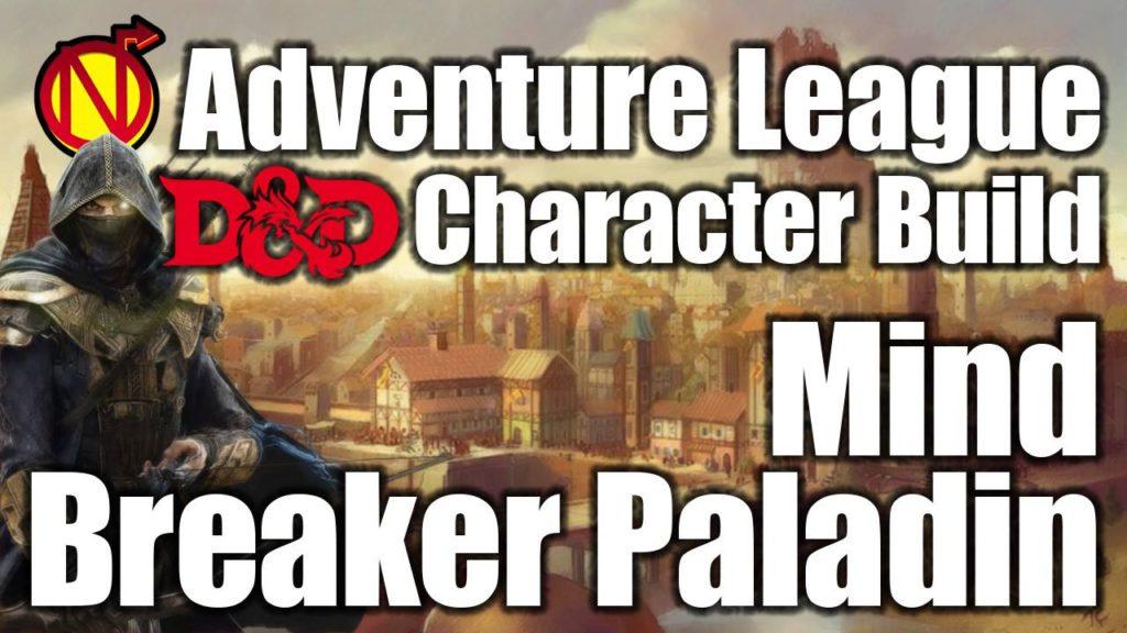 bard paladin 5E D&D character build