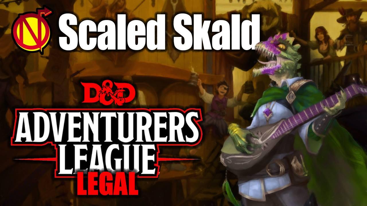 Adventurers League Lizardfolk 5e D Amp D Character Build Nerdarchy
