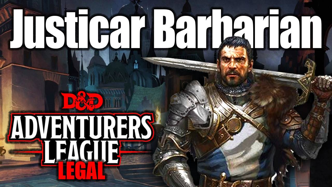 Path Of The Justicar Barbarian Paladin D Amp D Character Build