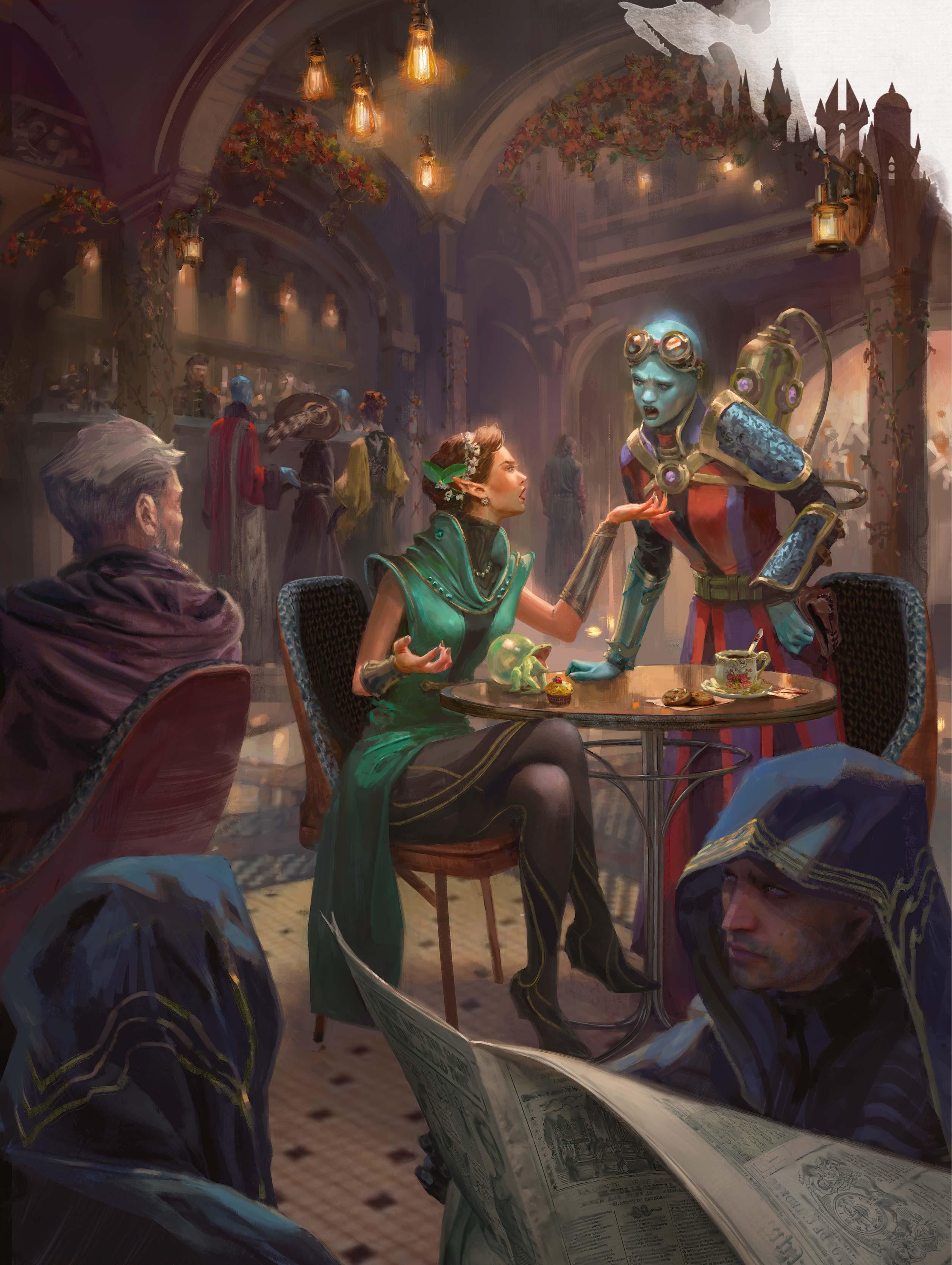 Dd Fantasy Naturalcrit Art Signed