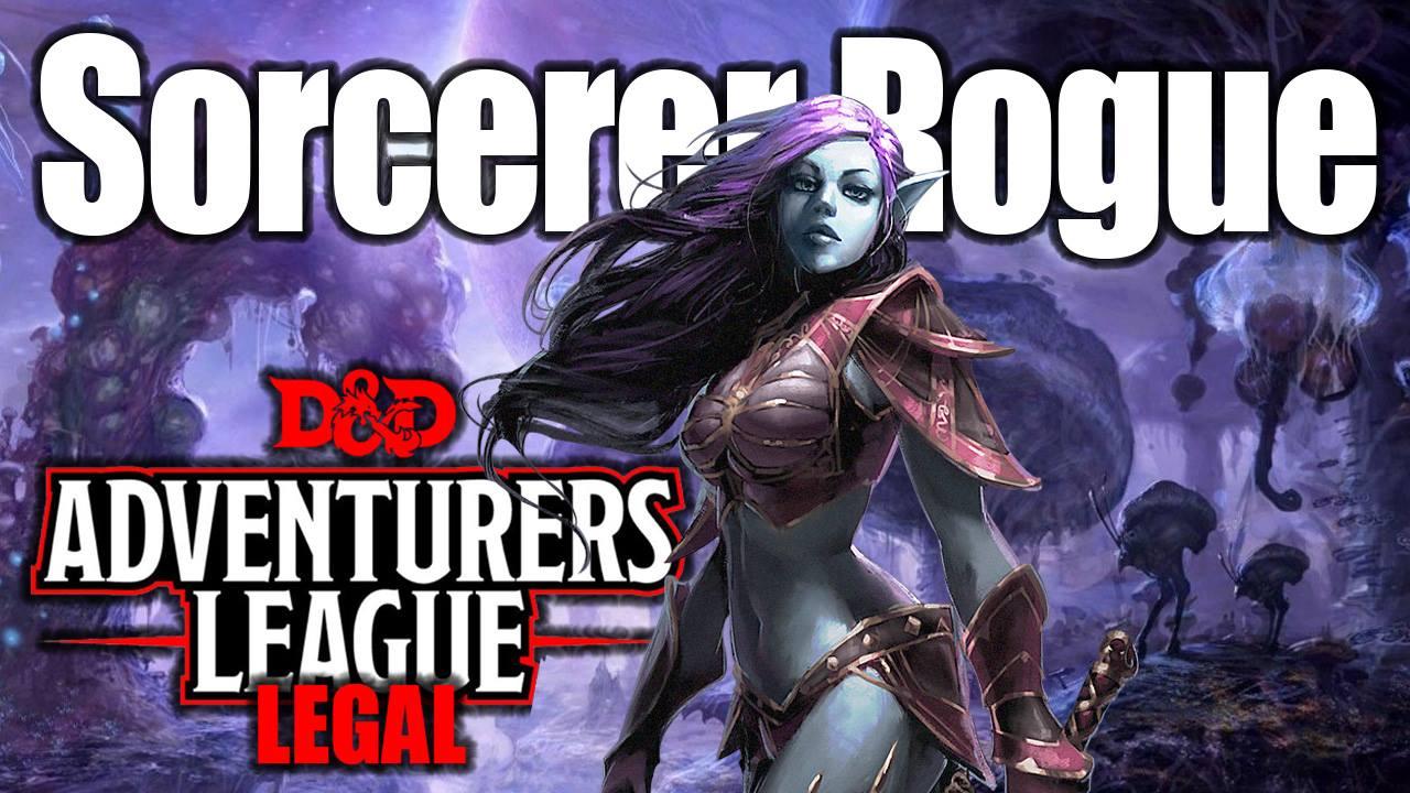 D Amp D 5e Character Creation Drow Sorcerer Rogue Adventurers