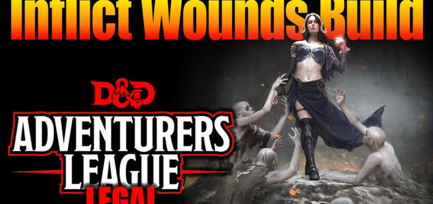 Inflict Wounds Build D Amp D 5e Character Builds For