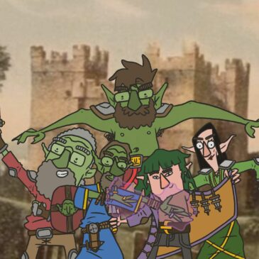 We All Live In A Castle web comic D&D