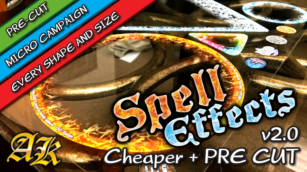 spell effects templates Arcknight