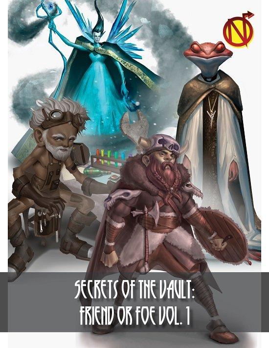 Secrets of the Vault: Friend or Foe Volume 1