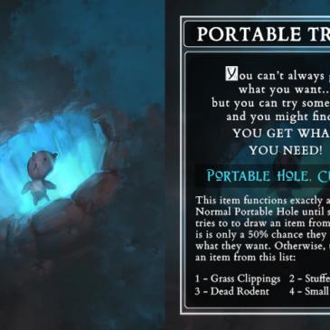 D&D cursed magic items cursed collective kickstarter