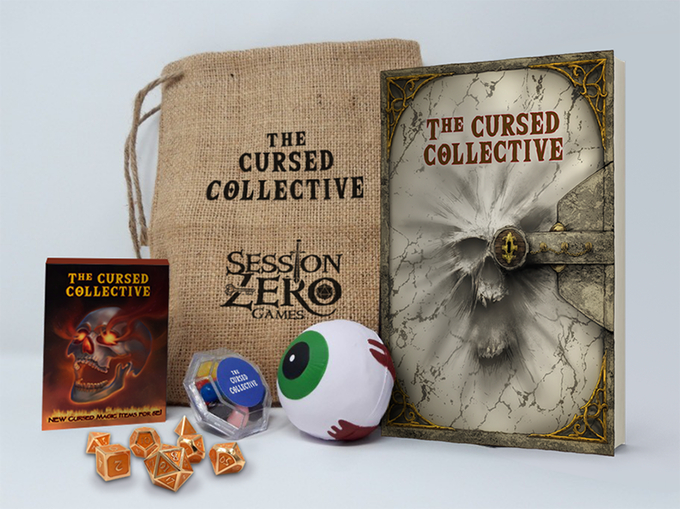 cursed collective kickstarter tabletop roleplaying game