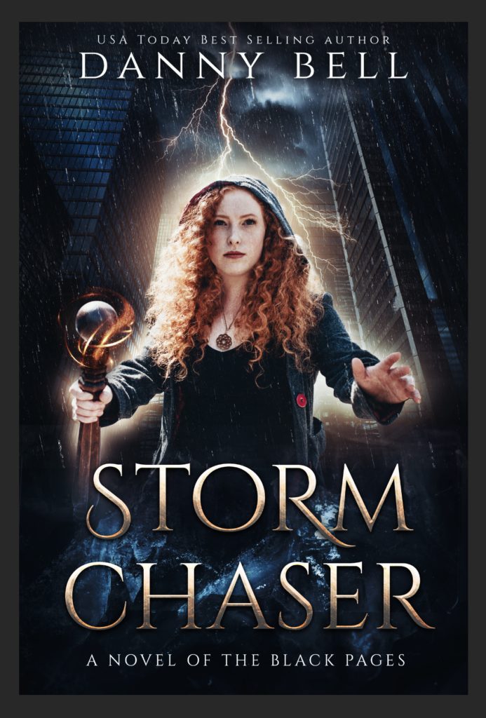 Black Pages Danny Bell Storm Chaser cover