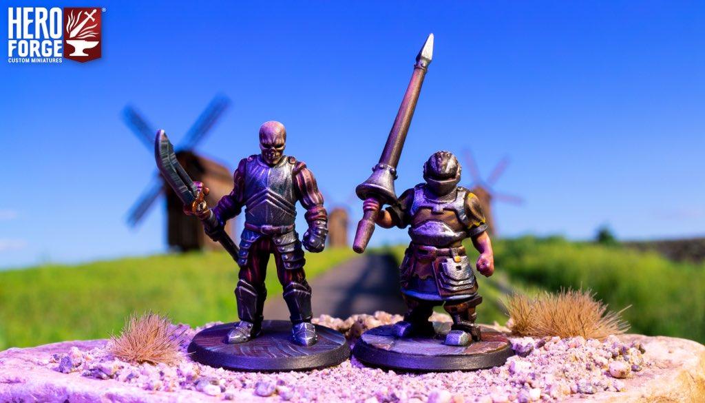 Hero Forge conquistador custom miniature