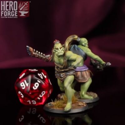 Hero Forge orc