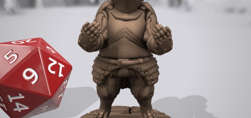 Hero Forge custom miniature conquistador