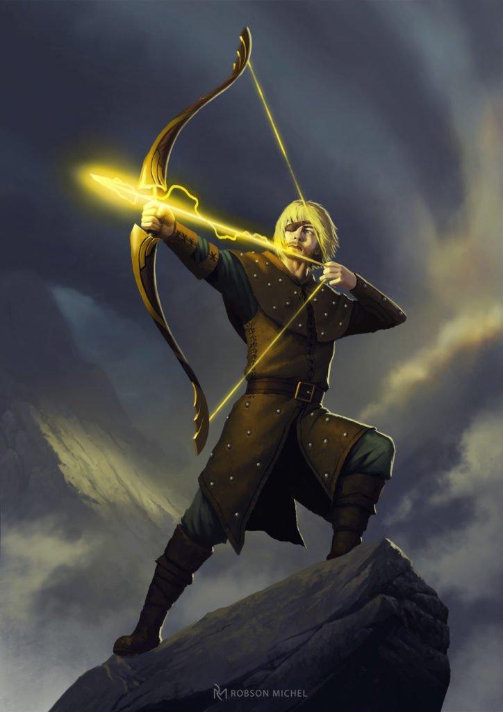 5E D&D archer skill check persuasion