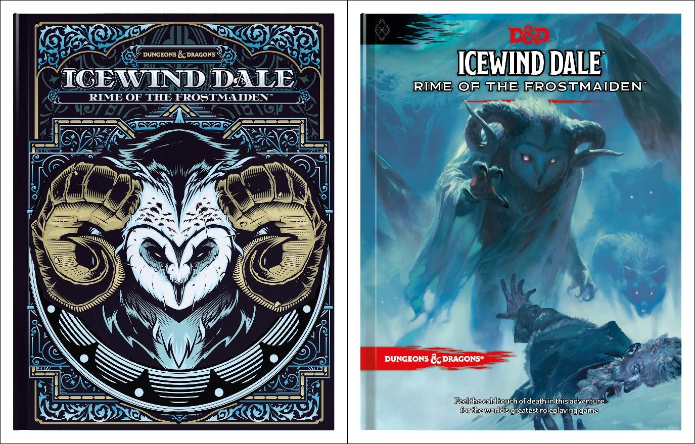 5E D&D Icewind Dale Rime of the Frostmaiden magic items