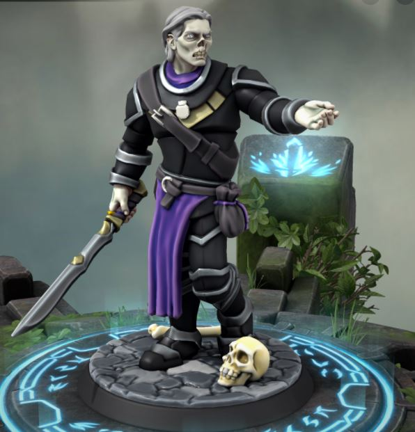 Hero Forge customized miniature undead