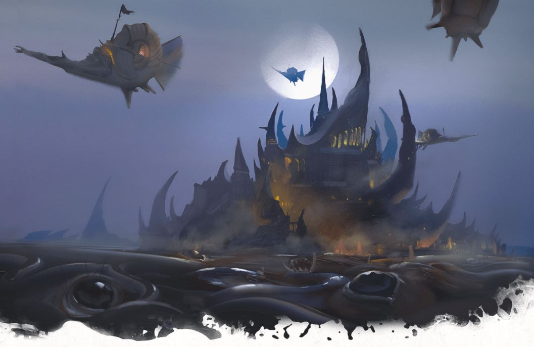 5E D&D Tasha's Cauldron of Everything Supernatural Region
