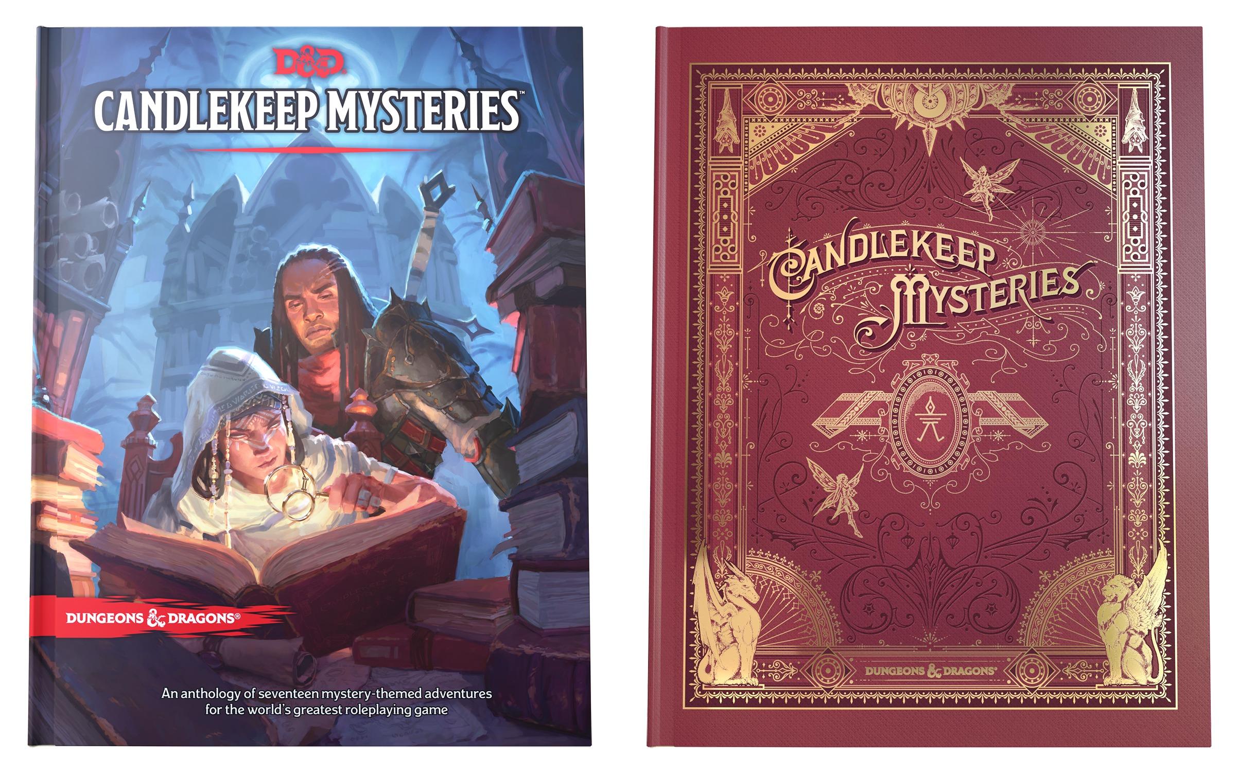 5E D&D Candlekeep Mysteries