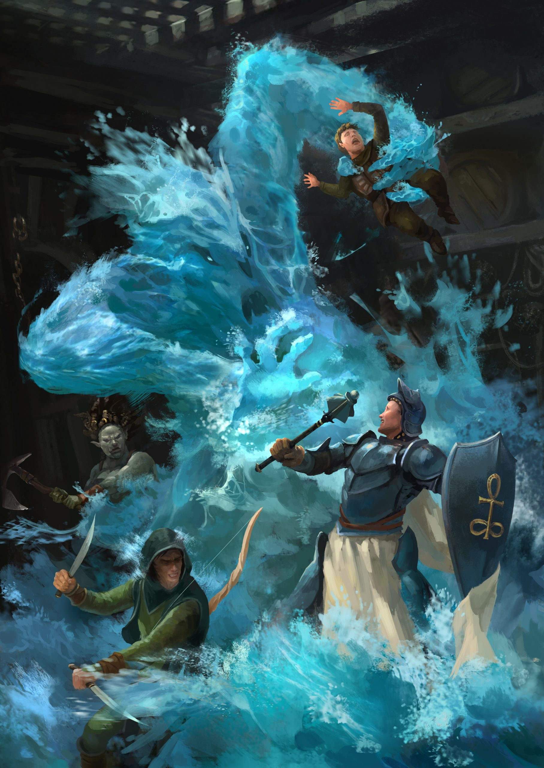 5E D&D oceans encounters Out of the Box