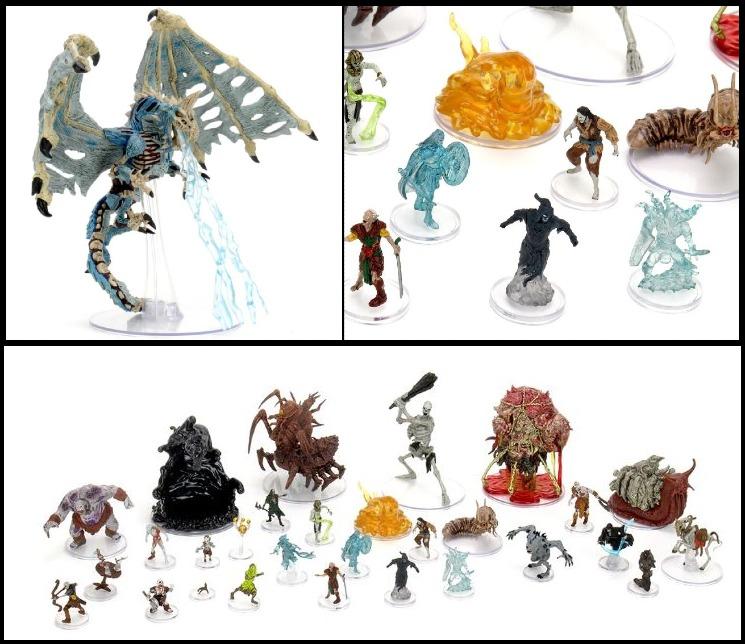 WizKids boneyard undead miniatures