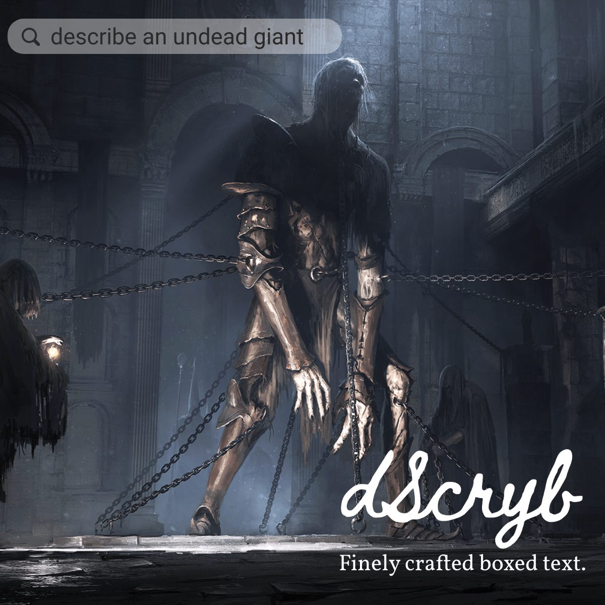 dscryb undead giant RPG boxed text