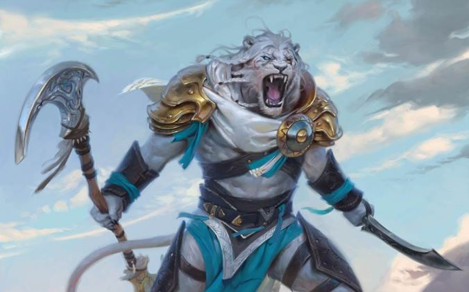 Ajani Adversary of Tyrants 5E D&D fighter martial archetypes