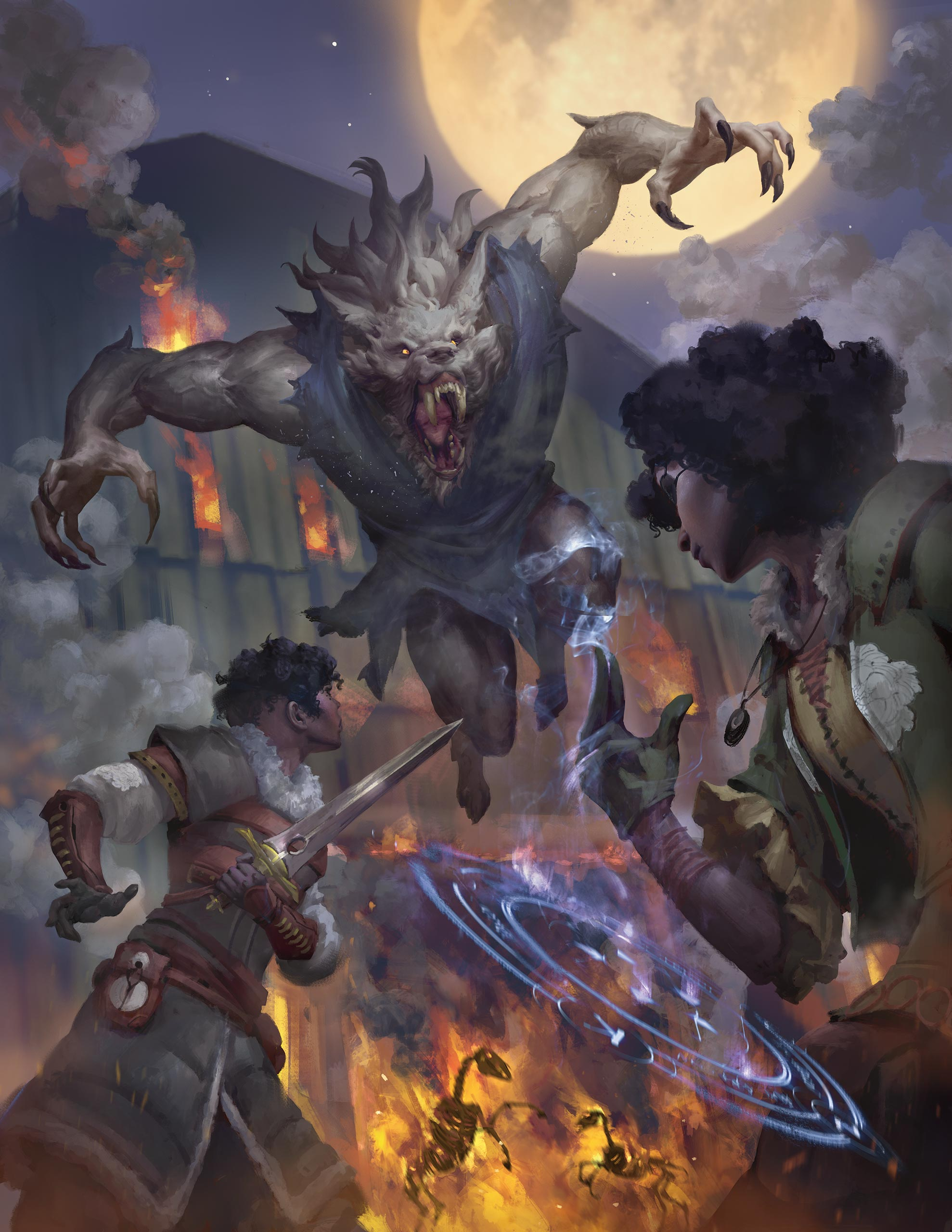 5E D&D Van Richten's Guide to Ravenloft haunted heroes dark gifts